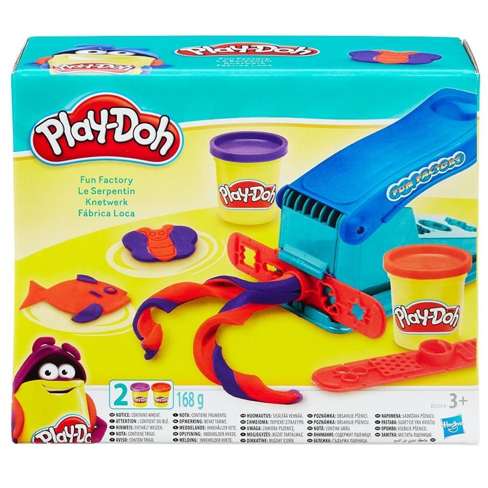 PD: Play-Doh Fun Factory 4 oz (3) Hasbro B5554