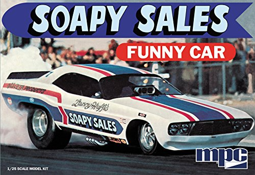 MPC 831 Soapy Sales Funny Car 1 25 Scale Plastic Model Kit by MPC