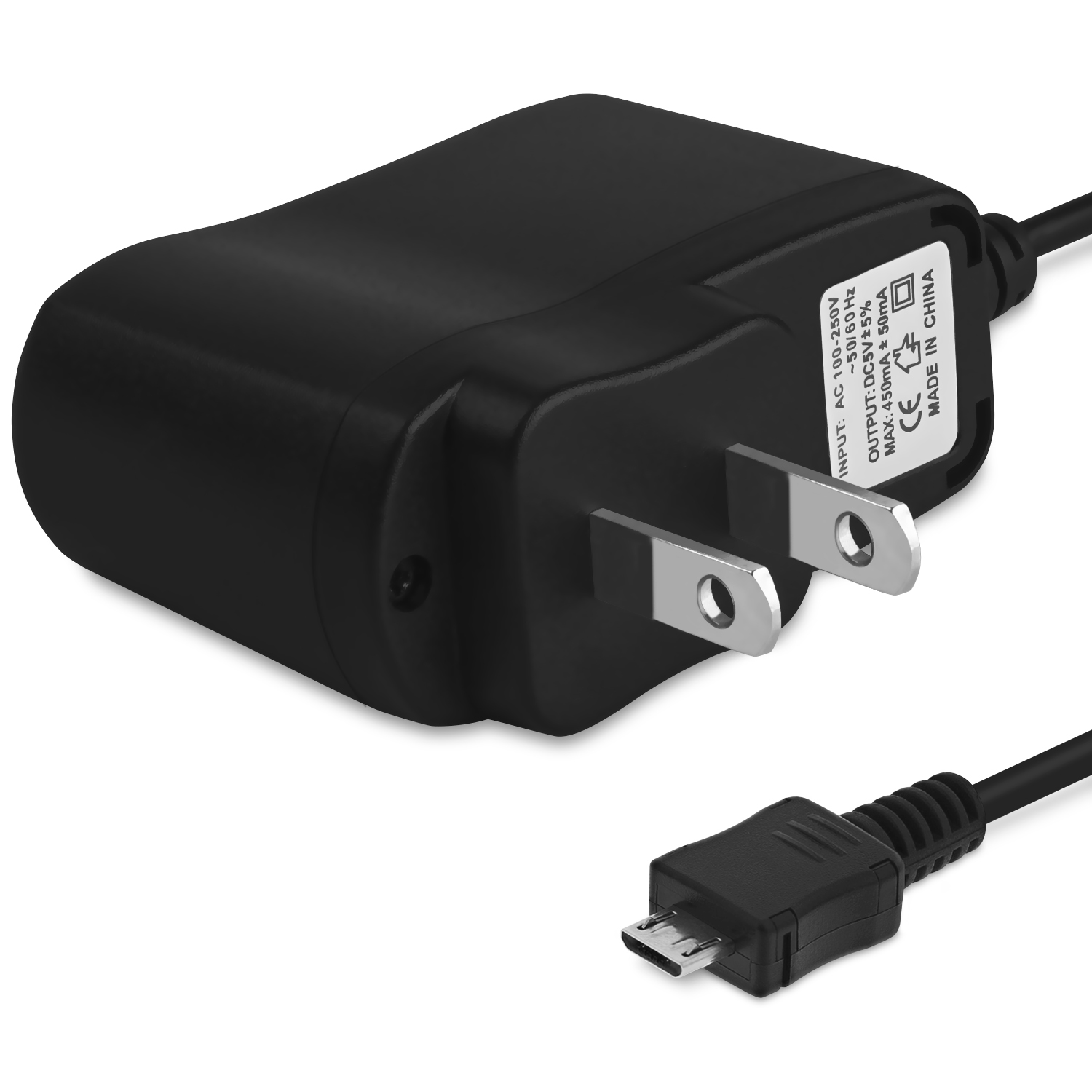 Micro USB Wall Charger, Fosmon AC Power Adapter Micro-B Travel for Samsung Galaxy S7 Edge / S7 / Note 5 / Edge, Motorola, HTC, LG, Alcatel, Blu and more