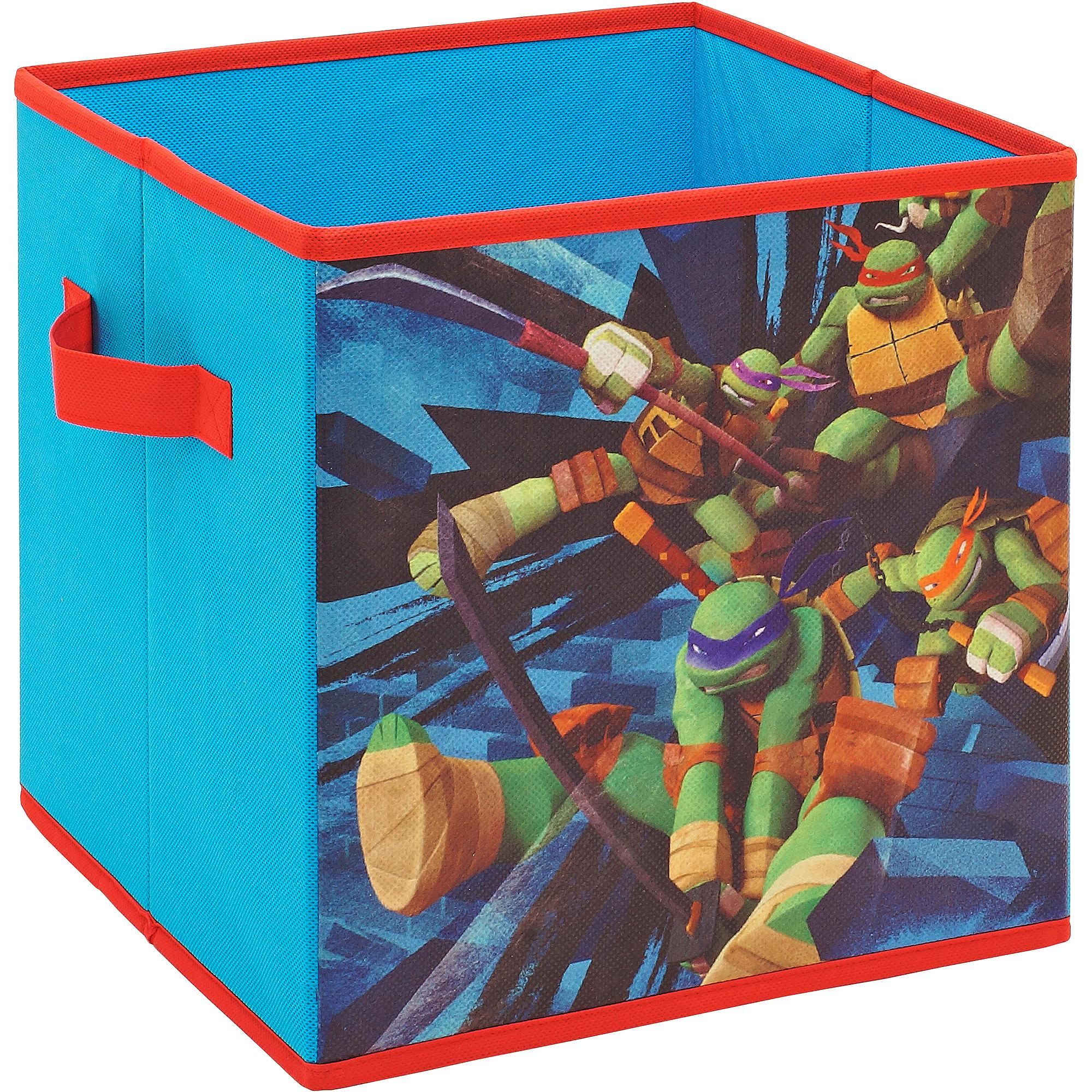 Teenage Mutant Ninja Turtles Storage Cube, Real Turtles 2