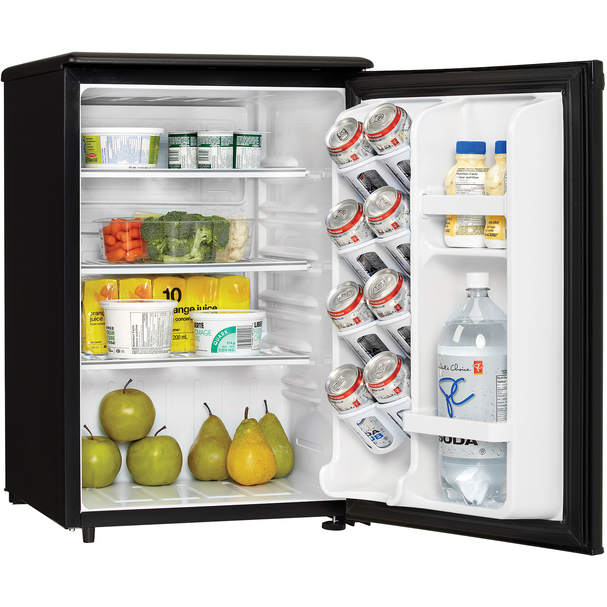 Danby Designer 2.6 cu ft All Refrigerator, Black