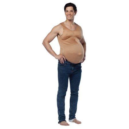 Pregnant Belly Bodysuit Costume by Rasta Imposta 6451