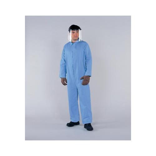 KIMBERLY CLARK Kleenguard A65 Flame-resistant Coveralls, Blue, 3xl KCC45316