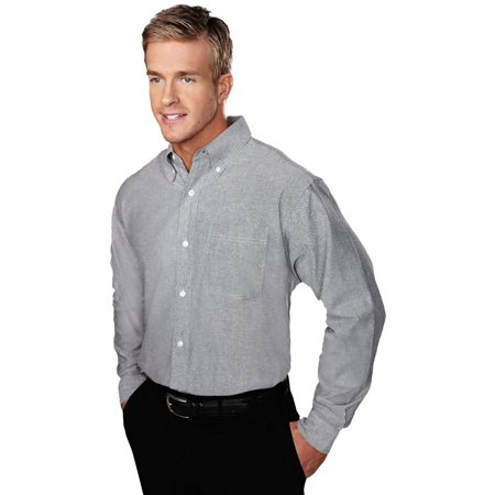 Tri-Mountain Men's Big And Tall Oxford Dress Shirt