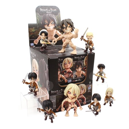 The Loyal Subjects Action Vinyls Attack on Titan Wave 1 Individual Blindbox Action Figure for $<!---->