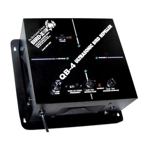 Bird-X QB 4 Ultrasonic Bird Repeller