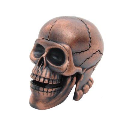 Metal Skeleton Skull Pencil Sharpener Novelty Collectible Halloween Desk Decor](Diy Halloween Pencils)