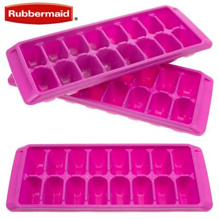Rubbermaid Easy Release Ice Cube Tray Pack Of 3 Color