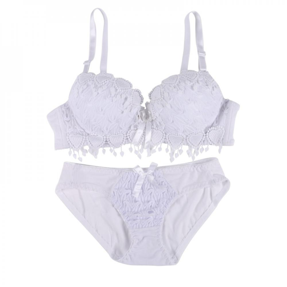 Details about  /Push Up Lace Bra And Panties Set Women/'s Embroidery Deep V Lingerie Knicker Sale