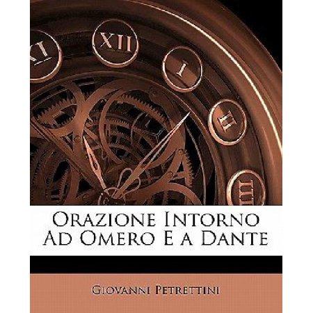 Orazione Intorno Ad Omero E A Dante