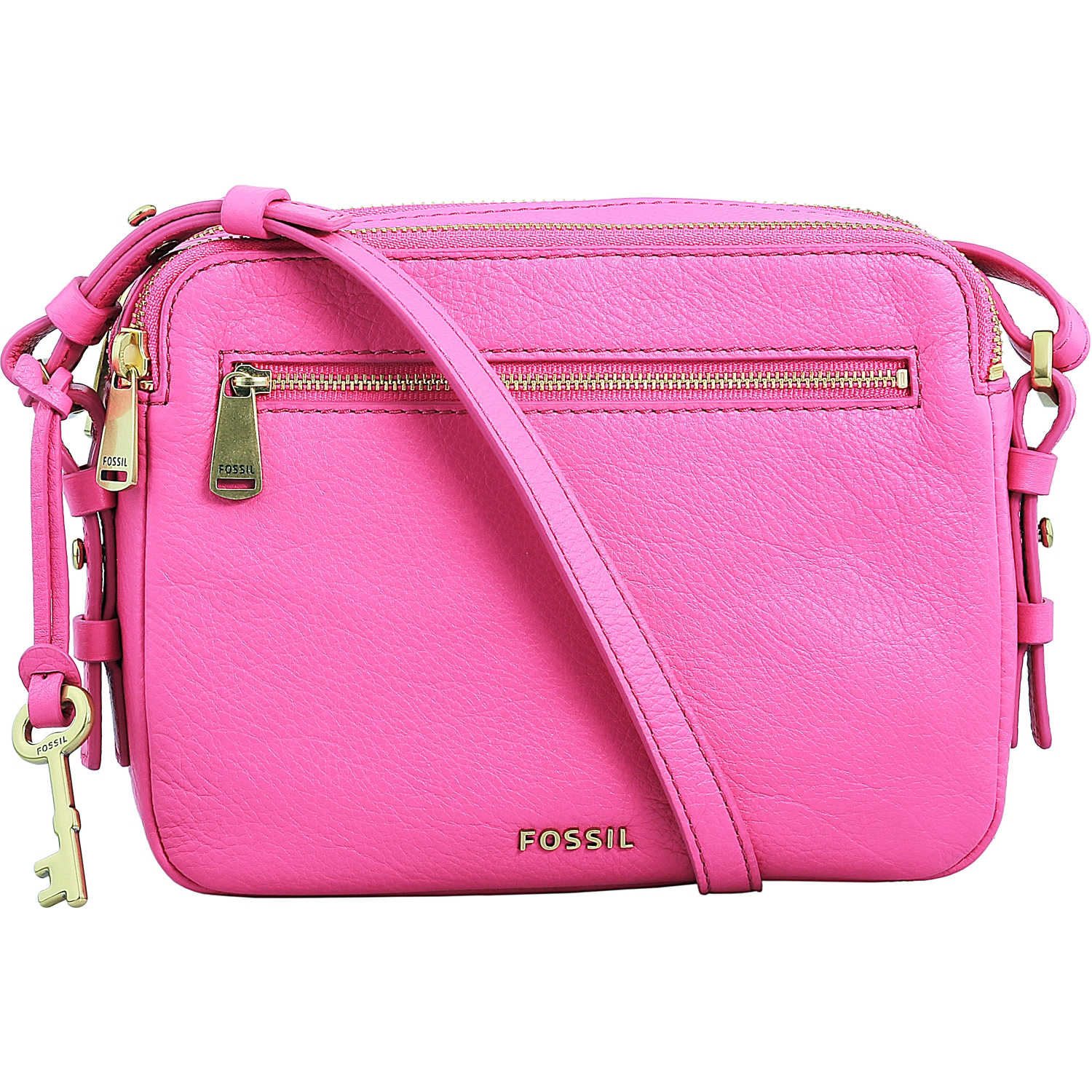 Fossil Women s Piper Toaster Leather Crossbody Leather Cross Body ... 3b37171f2ce8
