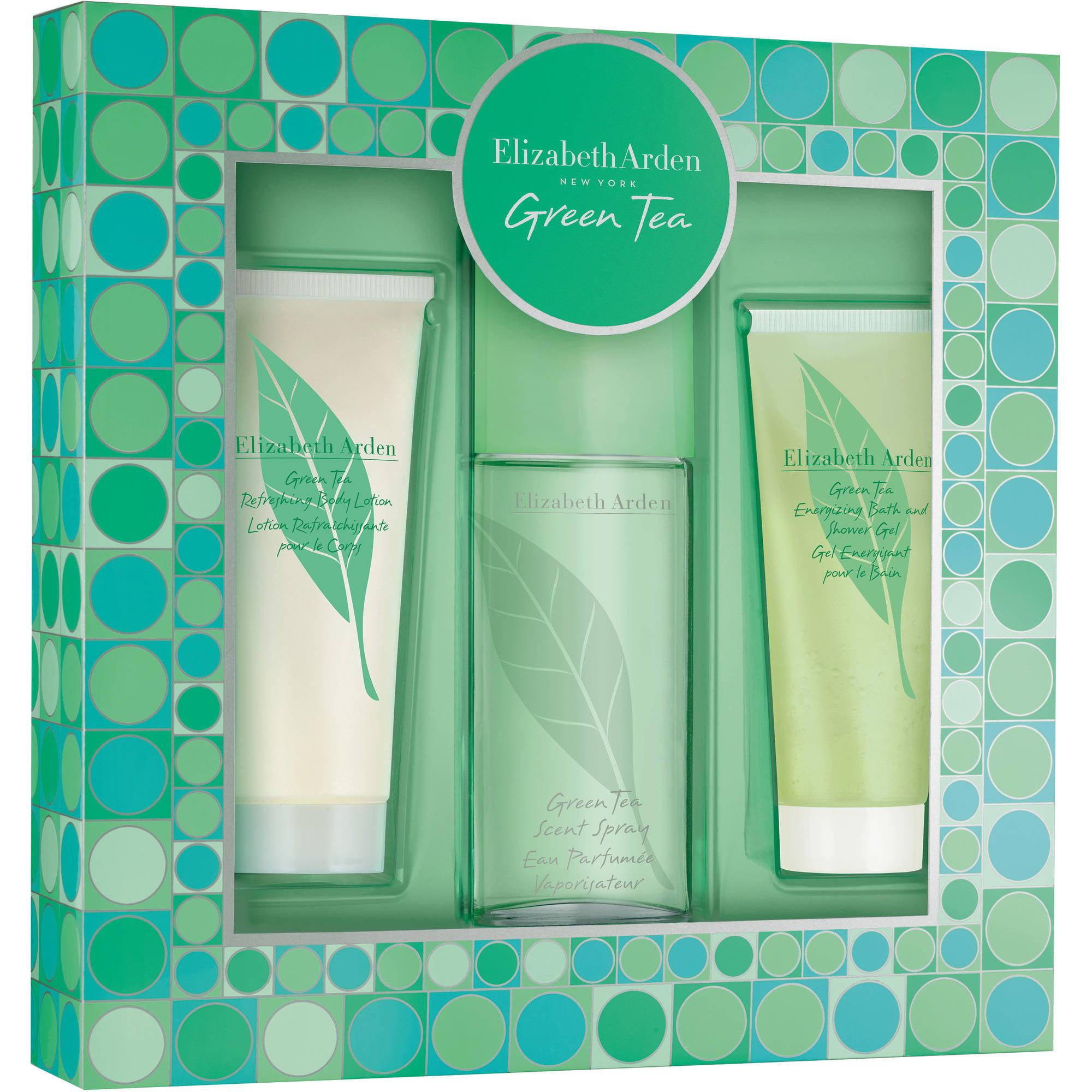 Elizabeth Arden Green Tea Fragrance Gift Set for Women, 3 pc