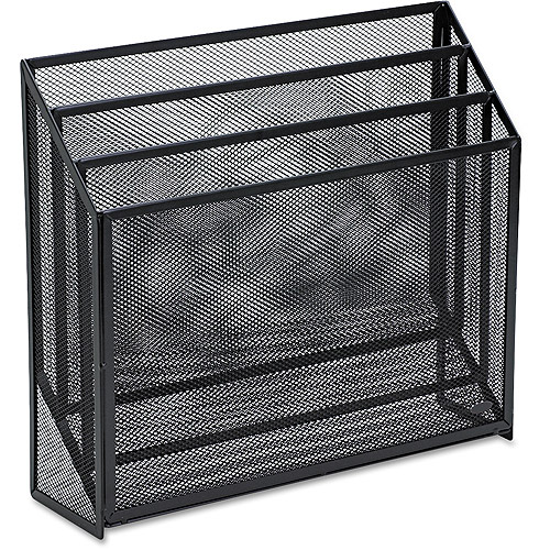 Rolodex Mesh 3-Tier Organizer, Black