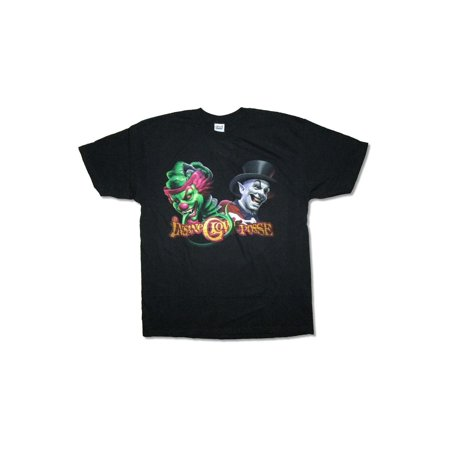 Insane Clown Posse Clown & Ringmaster Juggalo Black T Shirt ICP - Juggalo Halloween