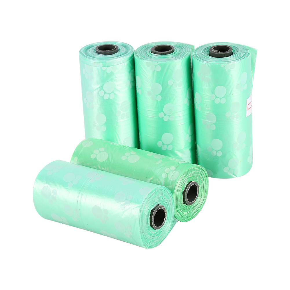 5 Rolls Pet Waste Poop Bags,Pet Dog Waste Bags for Poop Removal Disposal