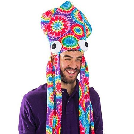 Squid Hat - Funny Fun and Crazy Hats in Many Styles - Funny Party Hats](Crazy Funny Hats)