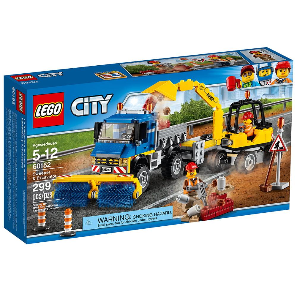 Great City 60152 Lego Vehicles Excavator Sweeperamp; jqzVGUMpSL