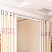 Dilwe Adjustable Spring Loaded Tension Rod Shower Extendable Curtain Closet Window Rail PoleShower