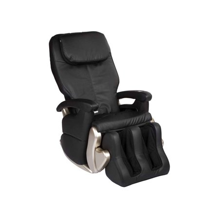 Human Touch HT 5320 black bonded leather refurbished massage - Including Groung Curbside - Human Touch Leather