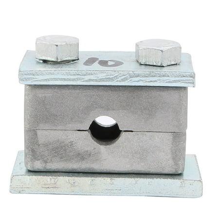 Heavy Series Pipe Clamp Single Assembly Aluminium Fit 10mm Tube Diameter