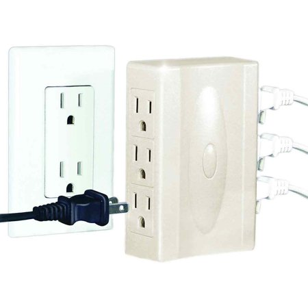 JB6527 S/2 Multi Plug Outlet, Add Multiple Outlets Quickly and Easily By Sierra Electric