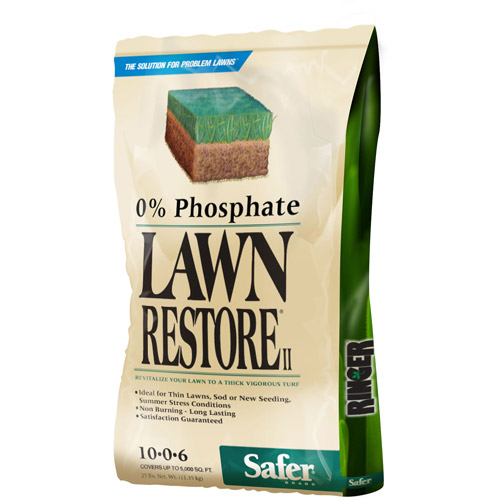 Safer Brand Ringer 25 lb Lawn Restore II Fertilizer