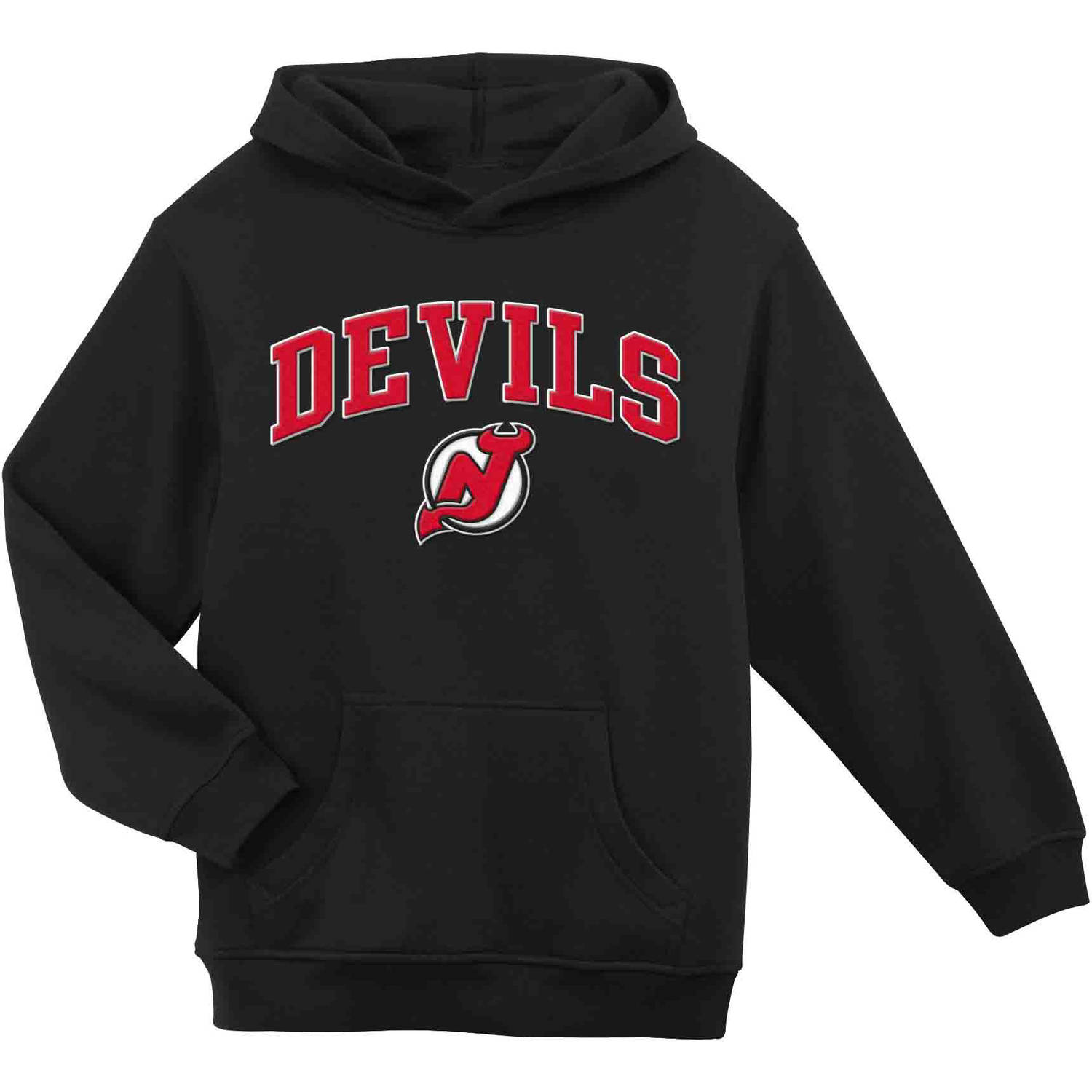 NHL New Jersey Devils Youth Team Fleece Hoodie