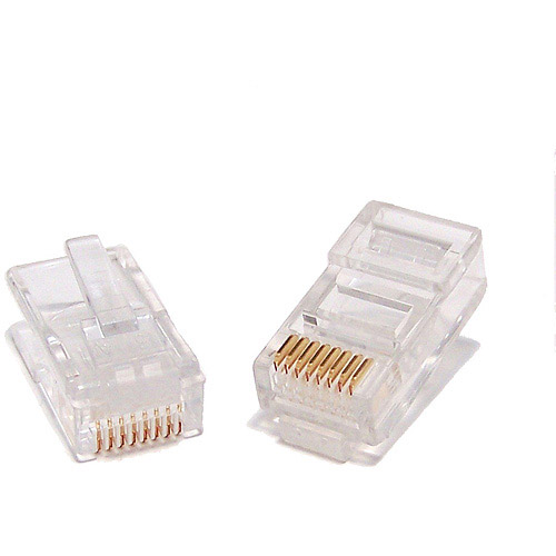 Micro Connectors Cat5 RJ-45 Modular Plug, 25pk