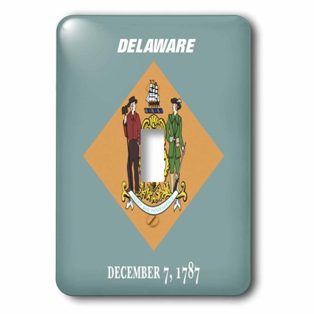3dRose State Flag Of Delaware - Single Toggle Switch (lsp_45020_1) (Delaware Outlets)