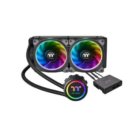 Thermaltake Floe Riing RGB 240mm Water Liquid Cooling Gaming CPU Cooler AIO -