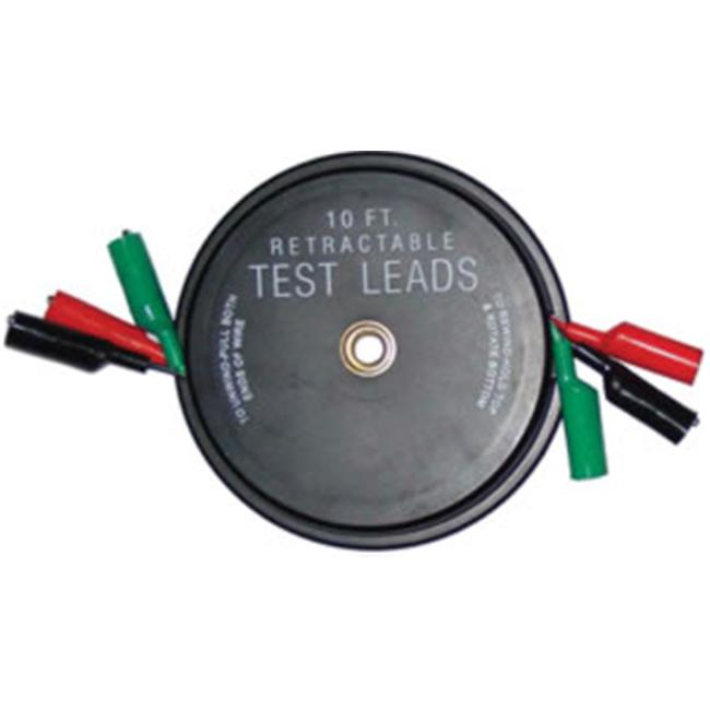 Kastar 1129 Retractable Test Leads - 3 Leads X 10 Ft