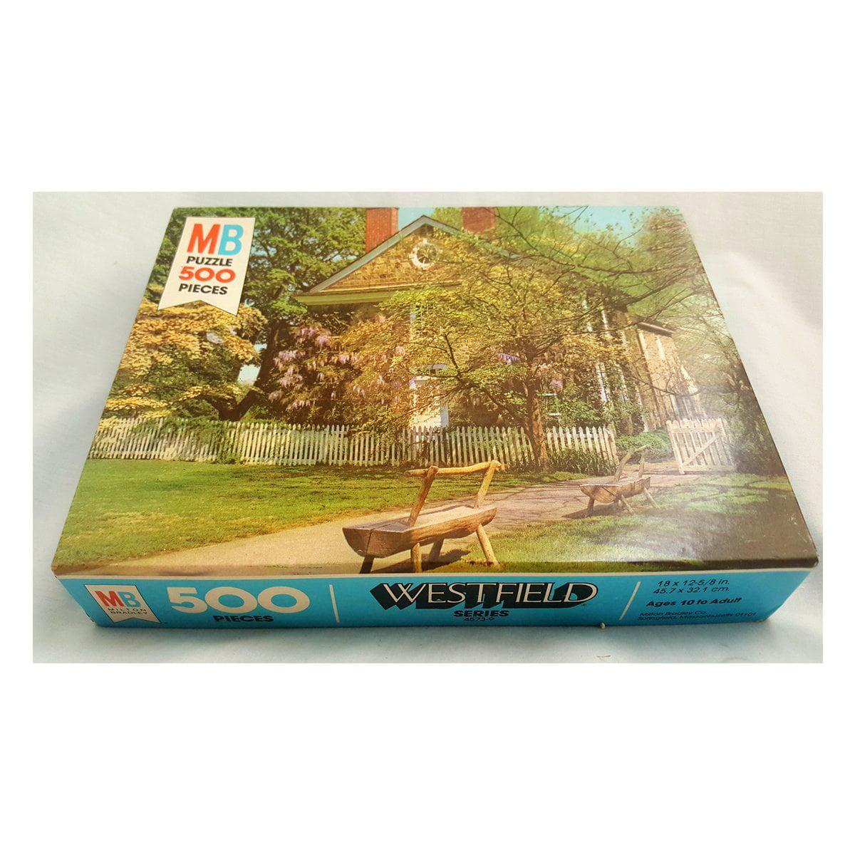 Vintage 1979 Milton Bradley Westfield Series Jigsaw Puzzle 500 Piece No. 4573-9 by Milton Bradley Co