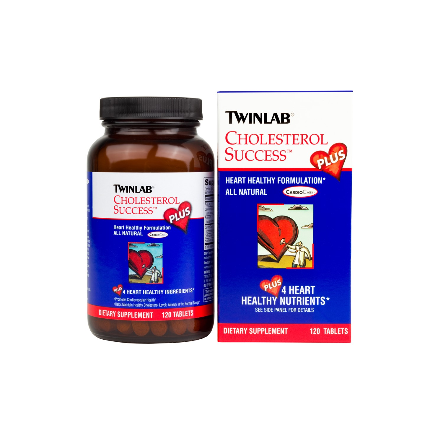 Twinlab Cholesterol Success Plus Tablets, 120 Ct