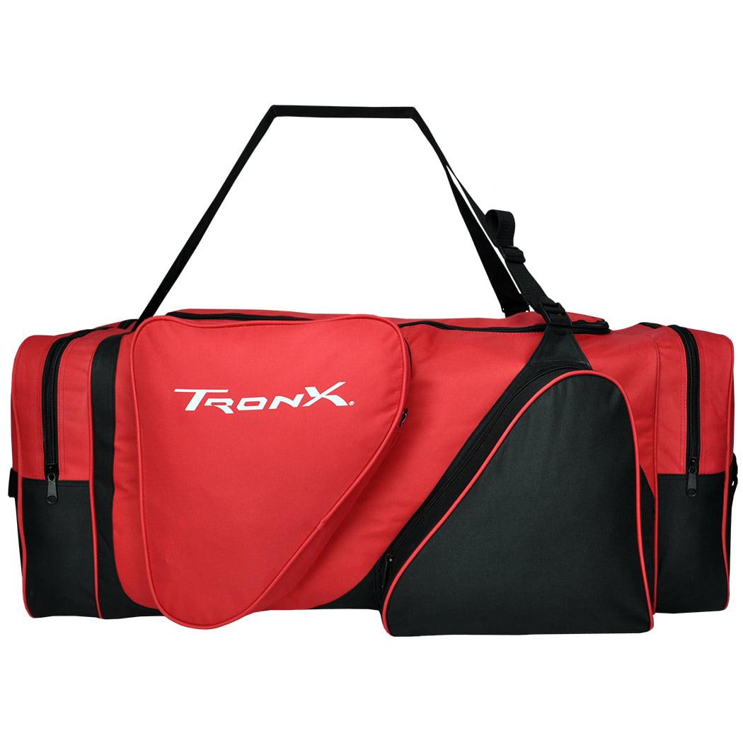TronX Hockey Equipment Locker Bag (Black/Red)