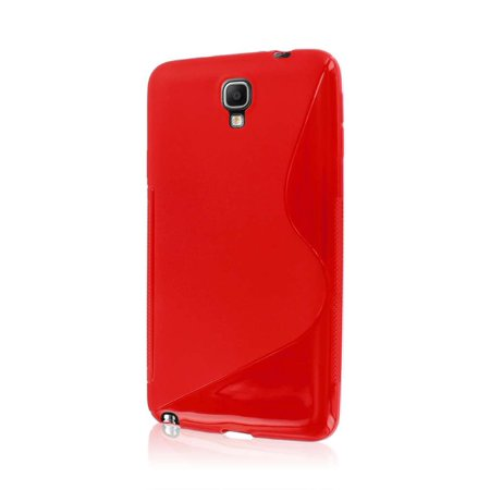 Neo Flex Laptop Mobile - MPERO FLEX S Series Protective Case for Samsung Galaxy Note 3 Neo - Red