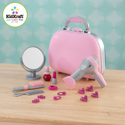 KidKraft Beauty Case Play Set with 15 Accessories