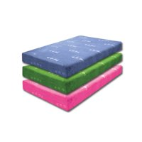 Furniture of America Dreamax Kids 7-inch Full-size Gel Infused Memory Foam Mattress - PInk