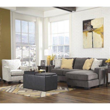 Signature Design by Ashley Furniture Hodan 3 Piece Sofa Set in Marble