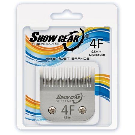 Show Gear #4F Clipper Blade 9.5mm Dog & Pet Grooming Professional in (4f Blade)