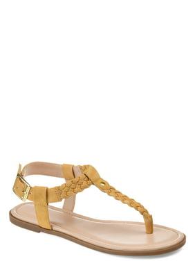 a5a47c3ac042 Womens Braided T-strap Sandal
