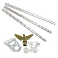 Residential Flagpole Set -  Economy Kit