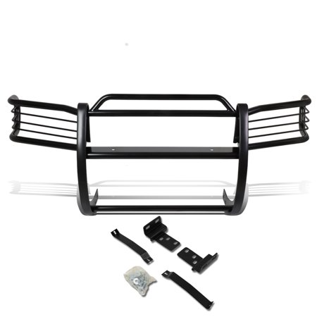 For 1996 to 2004 Nissan Pathfinder R50 Front Bumper Protector Brush Grille Guard (Black) 97 98 99 00 01 02 03