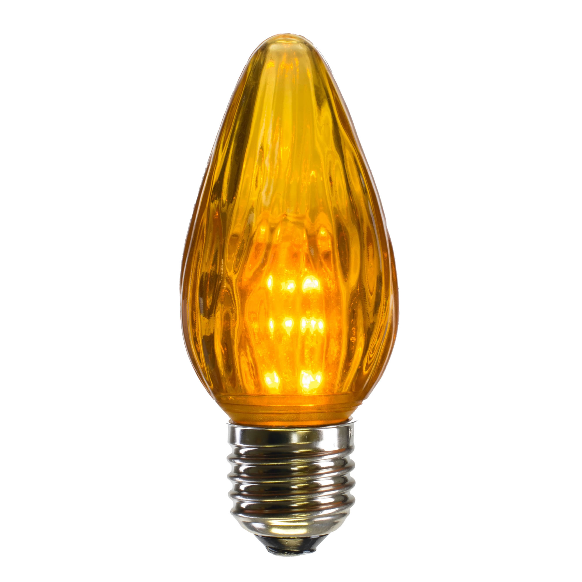 Vickerman F15 Gold Plastic LED Flame Replacement Bulb .96W
