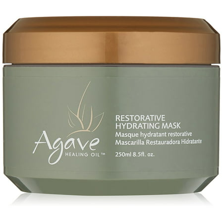 Agave Healing Oil Treatment Restorative Hydrating Mask 8.5 oz, PACK OF 1 (Owl Masks)