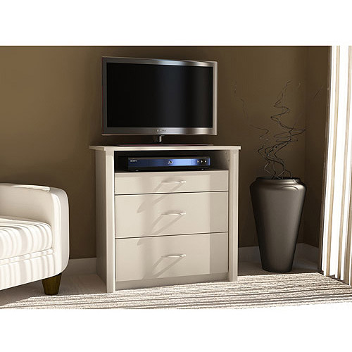 "Mainstays Media Dresser for TVs up to 32"", Multiple Colors"