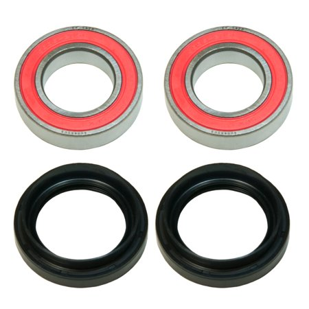 Factory Spec, KIT-WB14, Front OR Rear Wheel Bearing & Seal Kit 2002 Yamaha Grizzly 660 4x4 YFM660FW Spec 1 Wheels