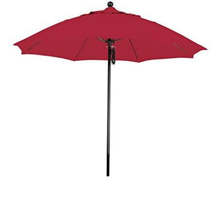 Eclipse Collection 9 Complete Fiberglass Market Umbrella Pulley Open
