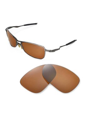 9aced2ef80 Product Image Walleva Black Polarized Replacement Lenses for Oakley  Crosshair 1.0 (2005-2006 version) Sunglasses