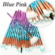 Makeup Brushes Set Eyelash Eye Shadow Blending Lip Brush Face Makeup Tools Kit 20PCS