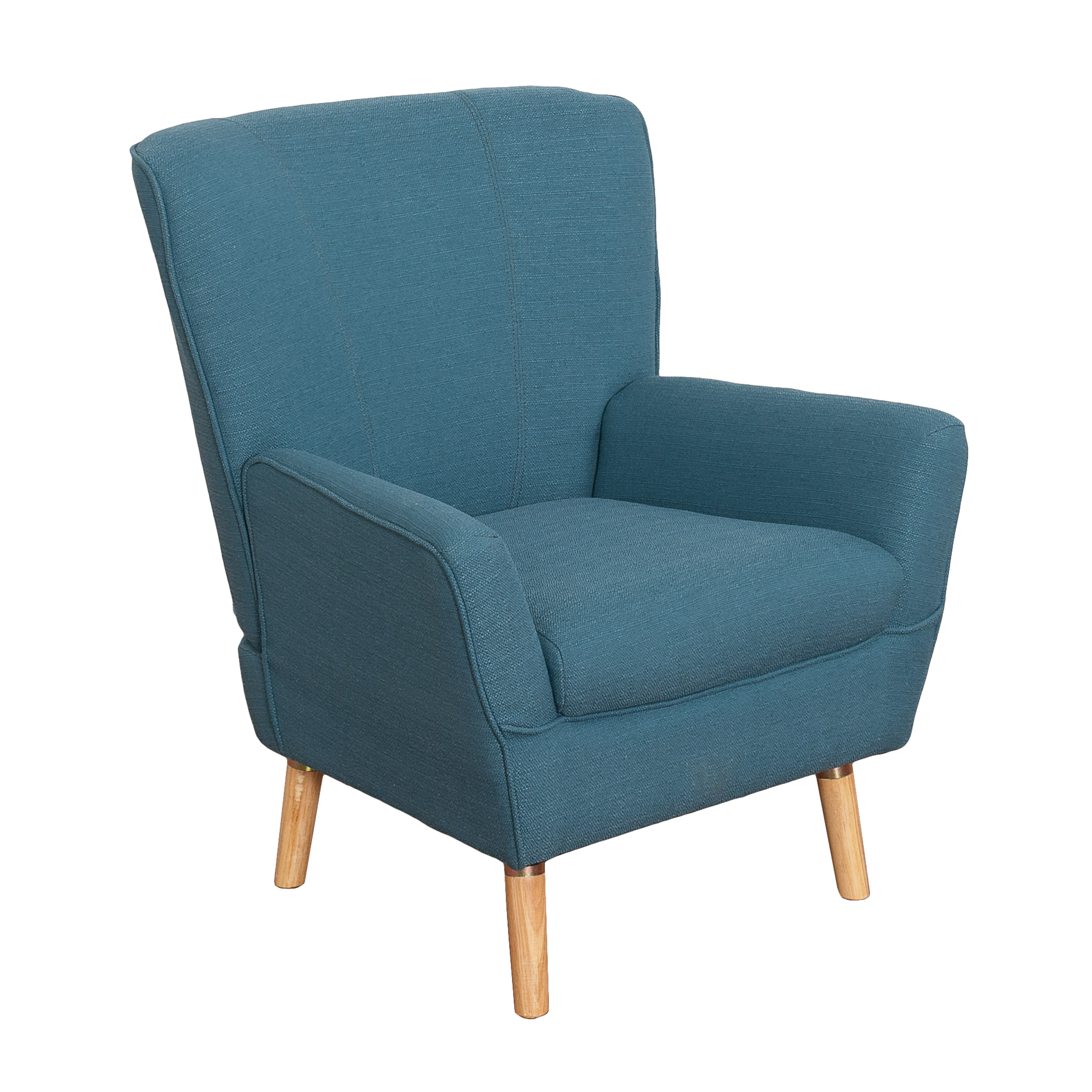 Demi Club Chair in Linen Fabric by CorLiving
